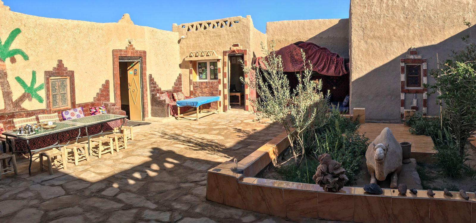 Szállás a sivatagban