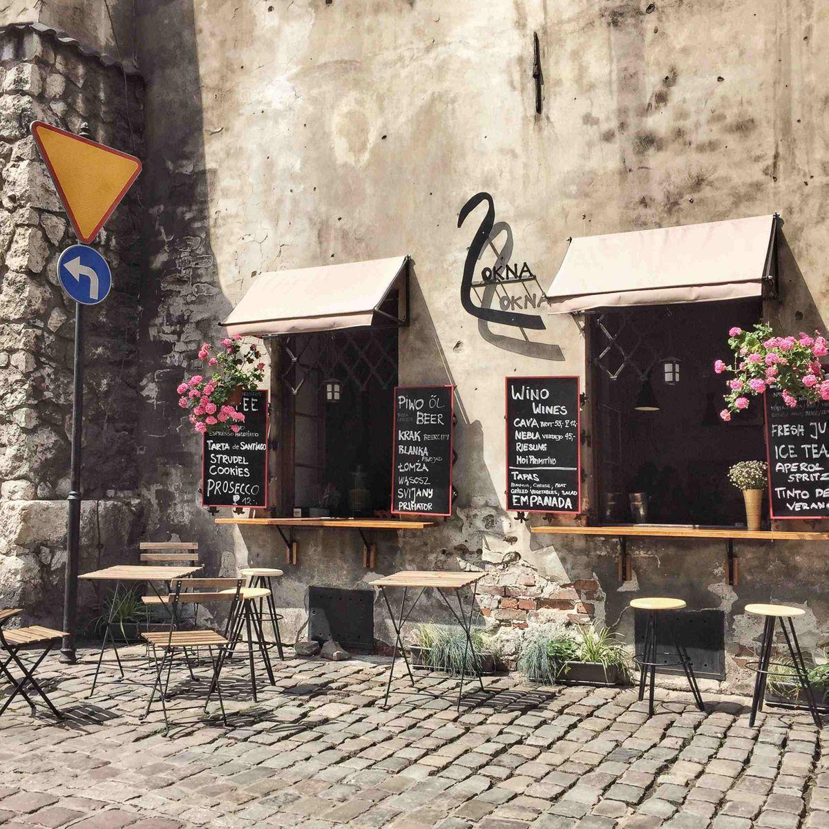 Kazimierz utcakép. Fotó: Séta Krakkóban