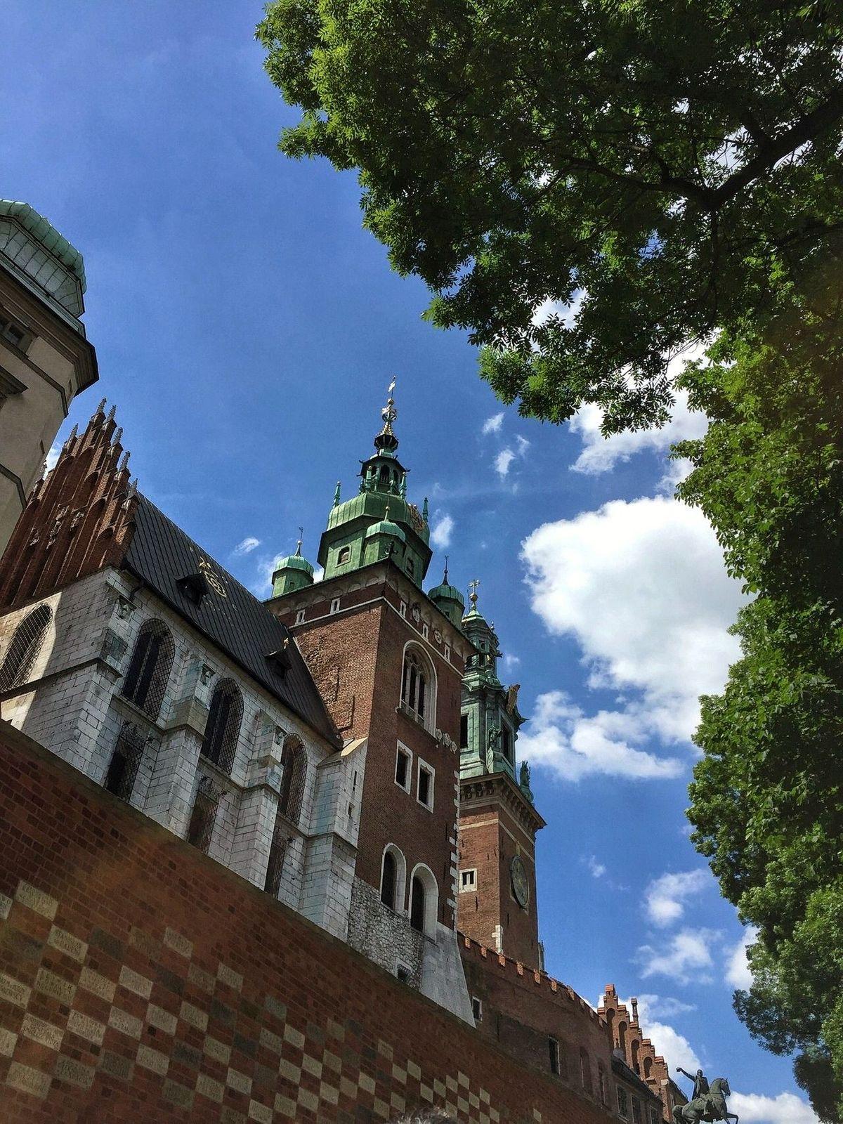 Wavel, a királyi palota. Fotó: Séta Krakkóban