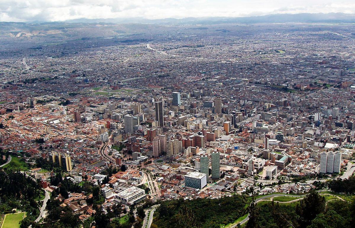 Kilátás Bogotára