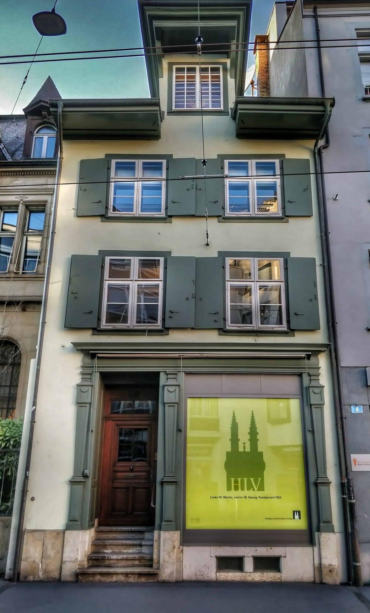 Bázel belvárosa tele van szebbnél szebb tipikus svájci házakkal