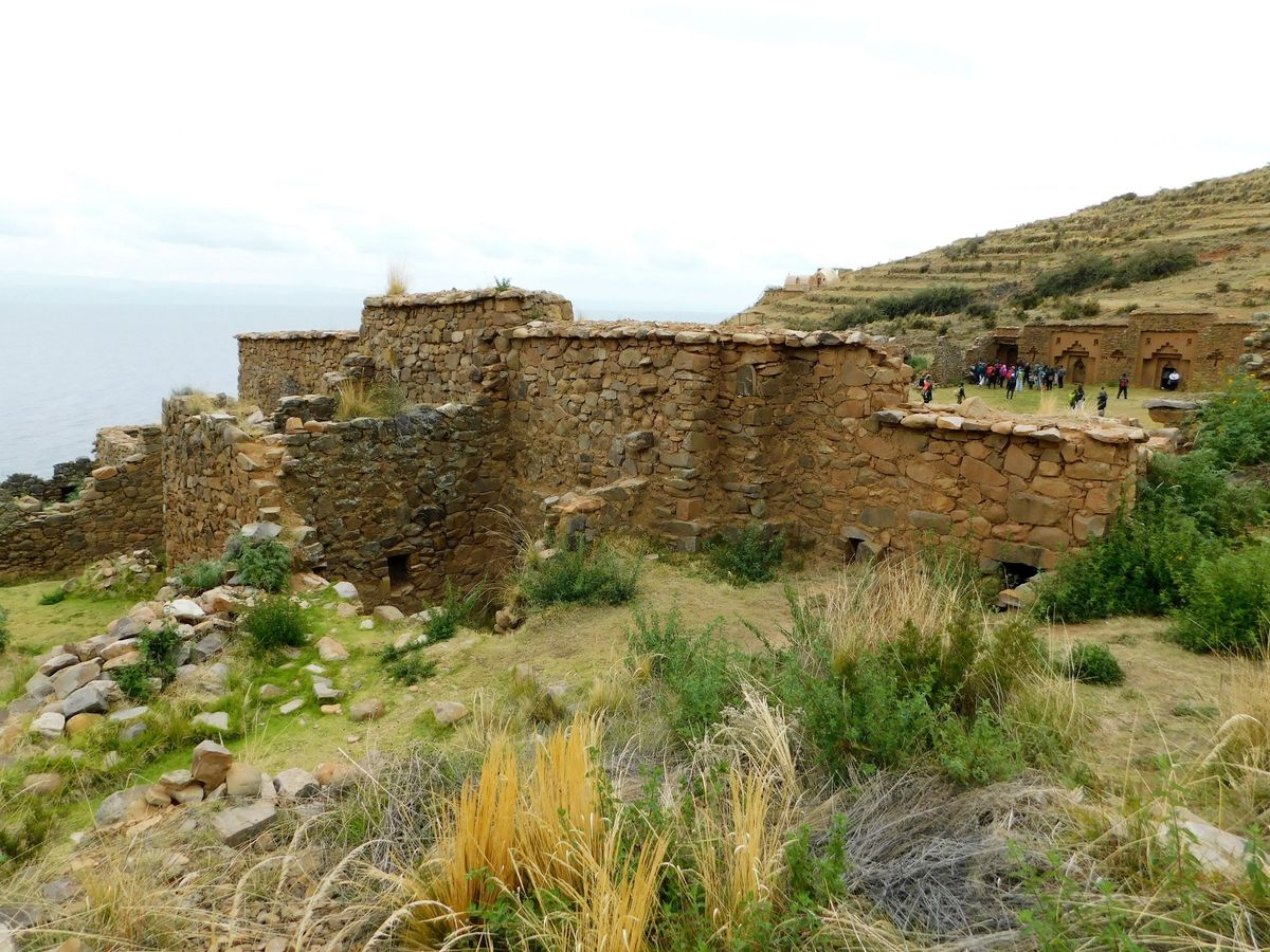 Inka templom romjai
