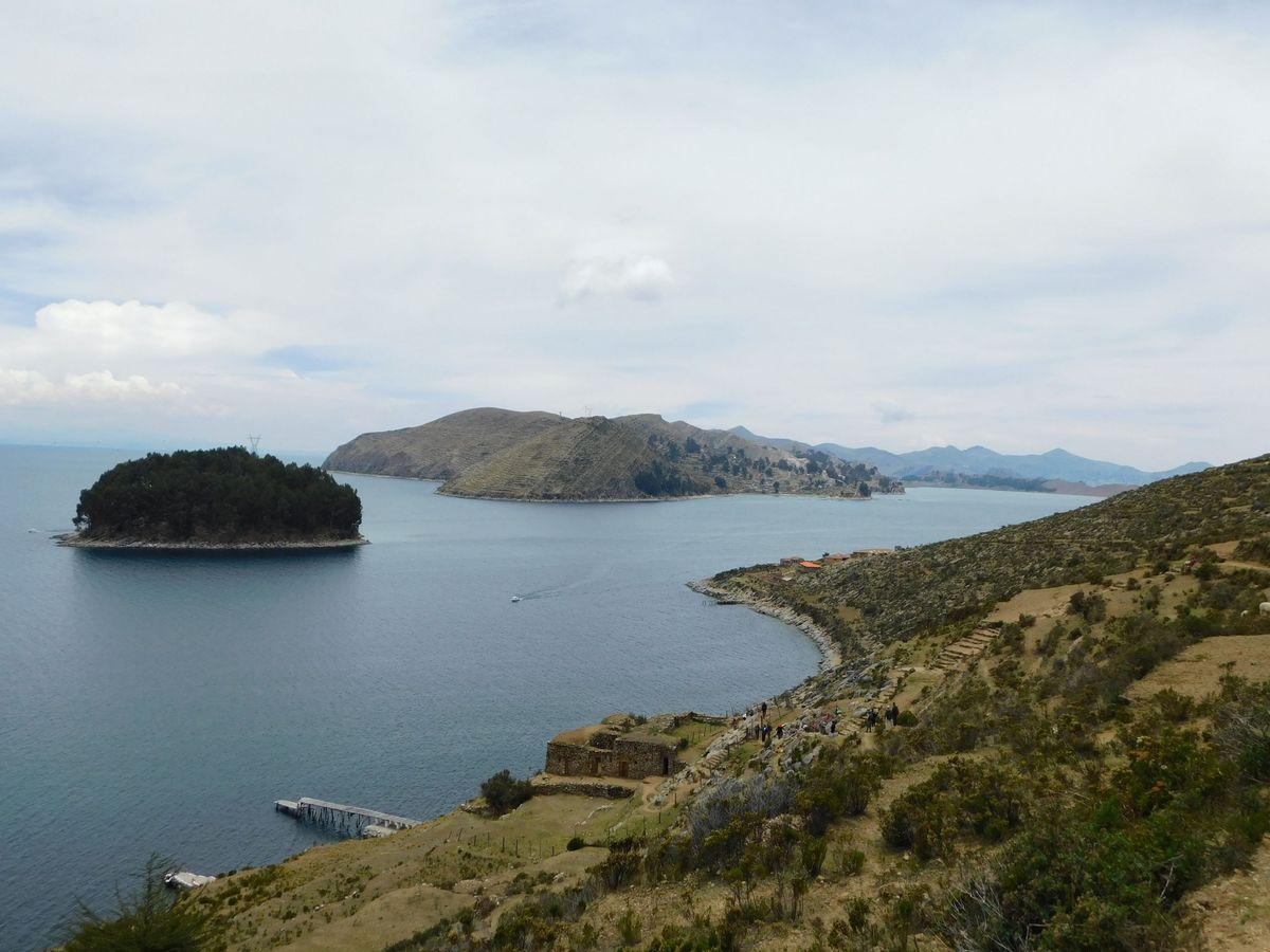 Kilatas a Nap szigetrol Titikaka