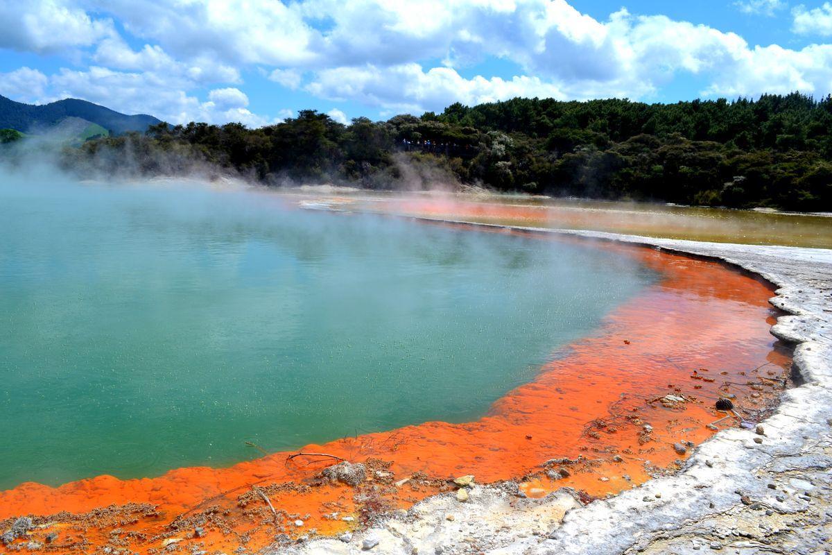 Pezsgőmedence Waiotapu Thermal Wonderland