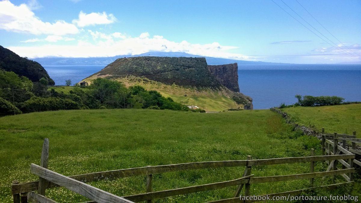 """""""Morro das Velas"""", a belsejében sétálható kráter van."""