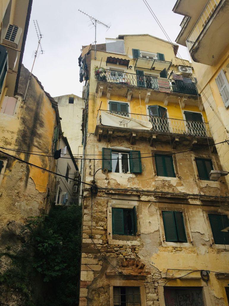 Korfu óváros
