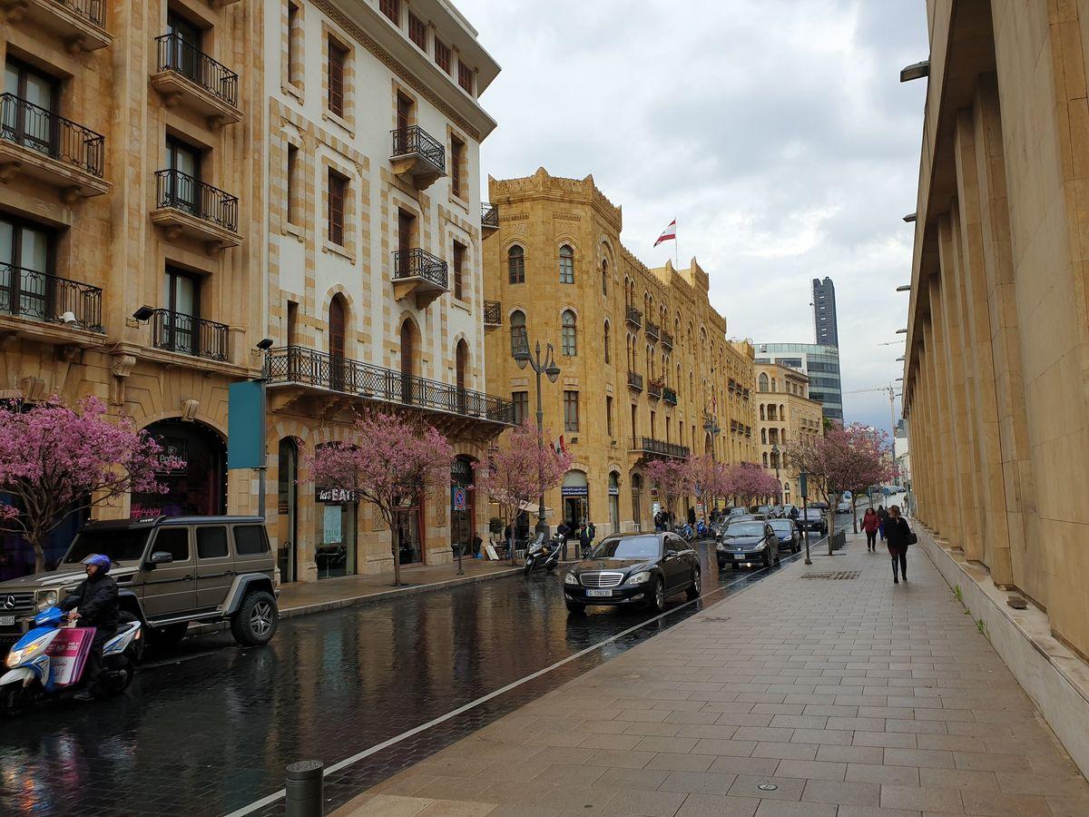 Bejrút utcáin