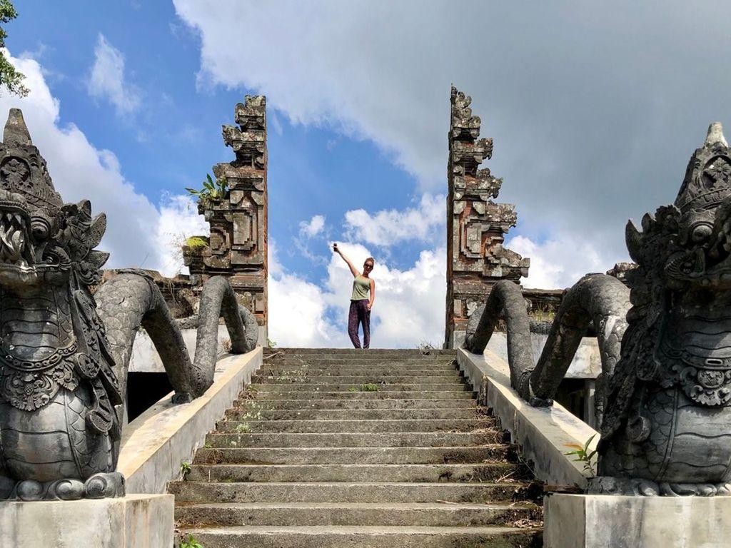 Bali abandoned hotel