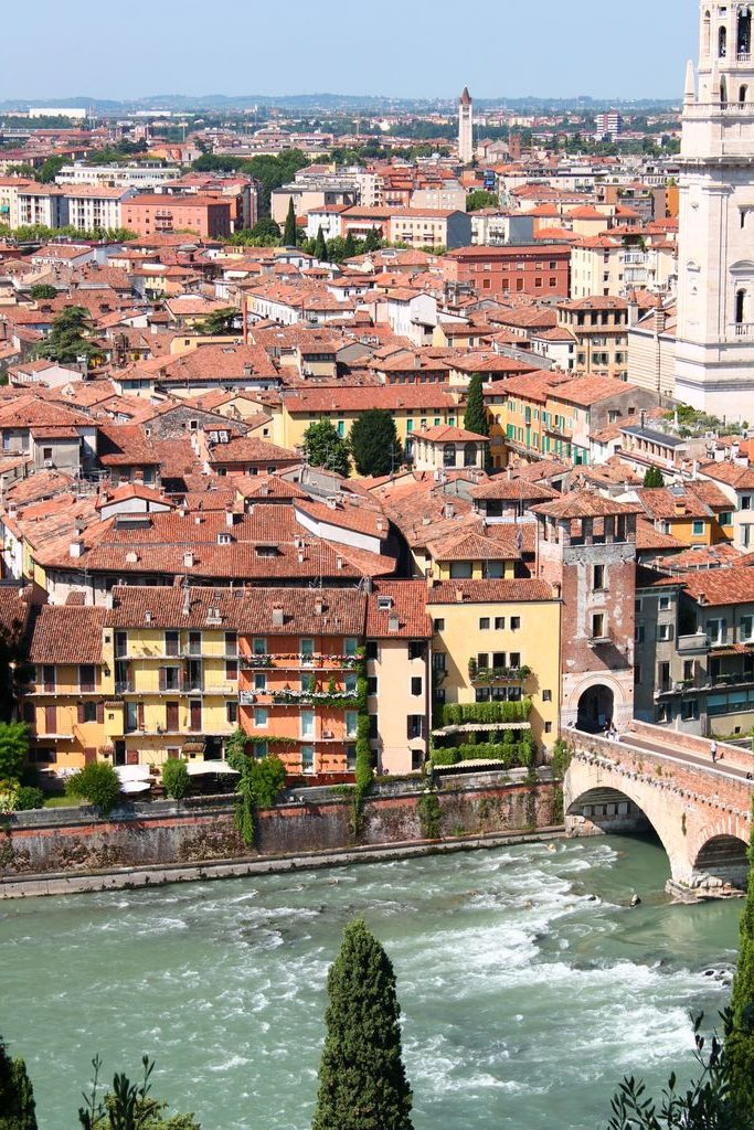 Verona felülről